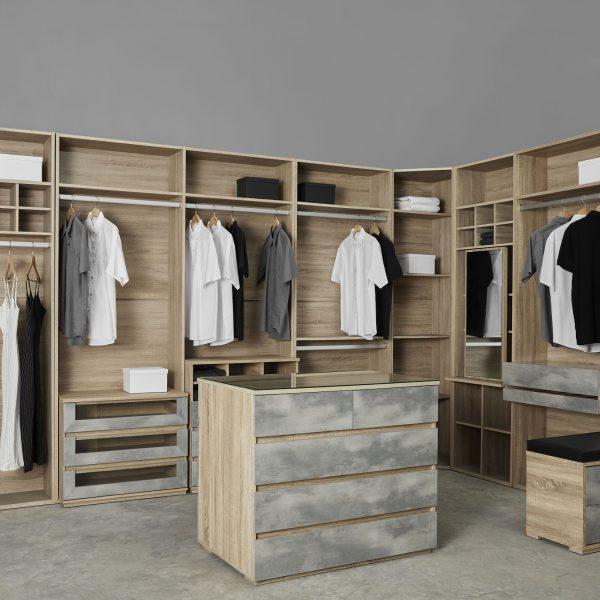 ตู้เสื้อผ้า walk in closet