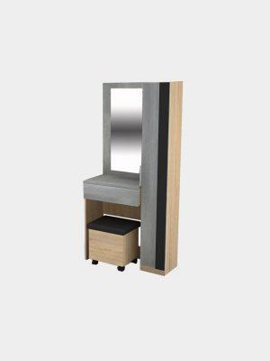 โต๊ะเครื่องแป้งพร้อมสตูล ขนาด 80 ซม.