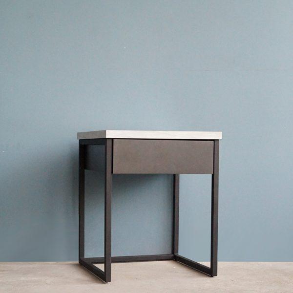 โต๊ะกาแฟ Berlin 4001 สีกราไฟต์-หินอ่อน