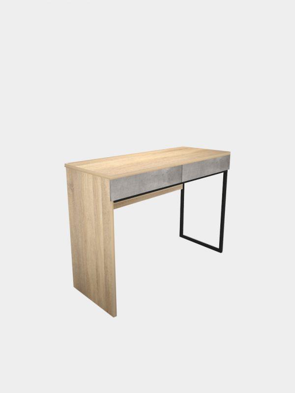 โต๊ะทำงานขาเหล็ก กว้าง 1 เมตร
