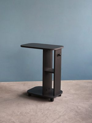 โต๊ะข้างโซฟา สีกราไฟต์